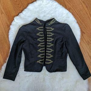 H&M military band jacket